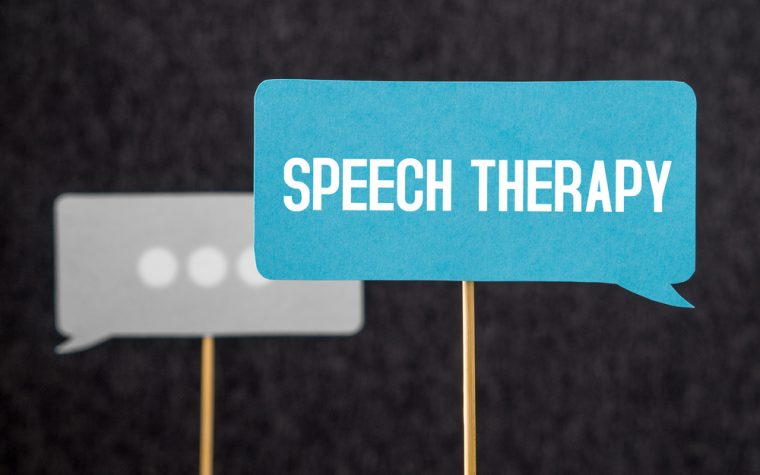 speech therapy and ataxias