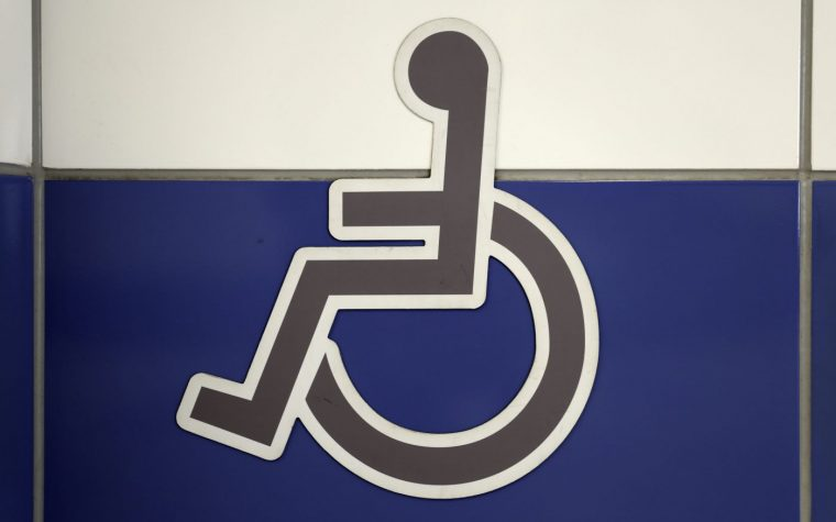 wheelchair accessible restrooms